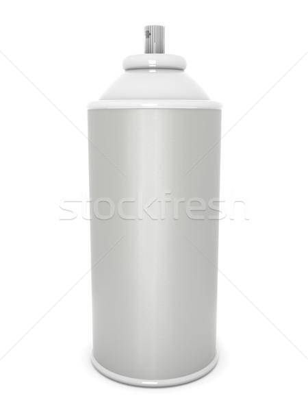 Aerossol lata 3D prestados ilustração digital Foto stock © Spectral