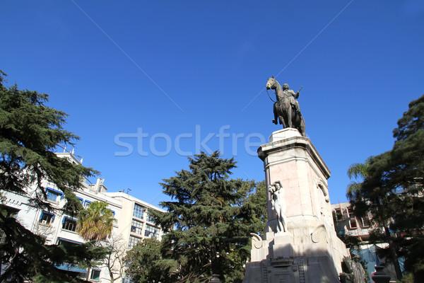 Montevideo heykel Uruguay güney amerika tarih eski Stok fotoğraf © Spectral