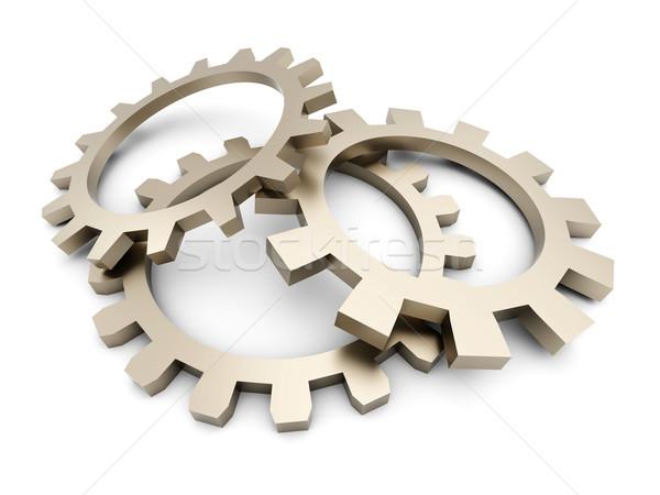 Cogwheels Stock photo © Spectral