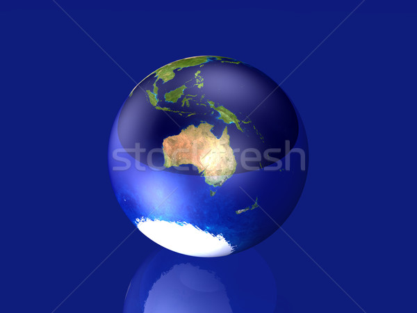Glassy Globe - Australia Stock photo © Spectral