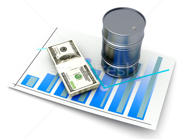 Oil and the Stock Market	 Stock photo © Spectral