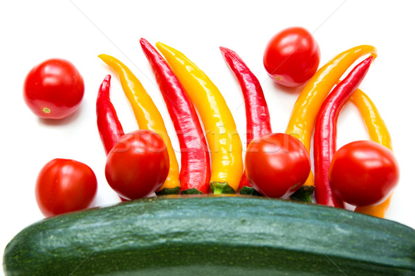 Chillis and Vegetables	 Stock photo © Spectral