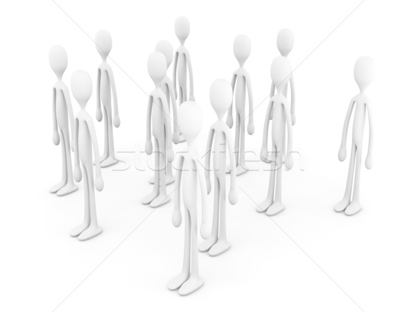 Anonymous Crowd		 Stock photo © Spectral
