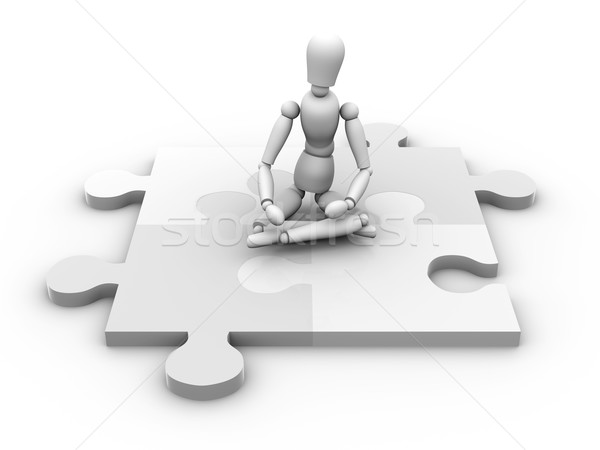 Puzzle Master Stock photo © Spectral