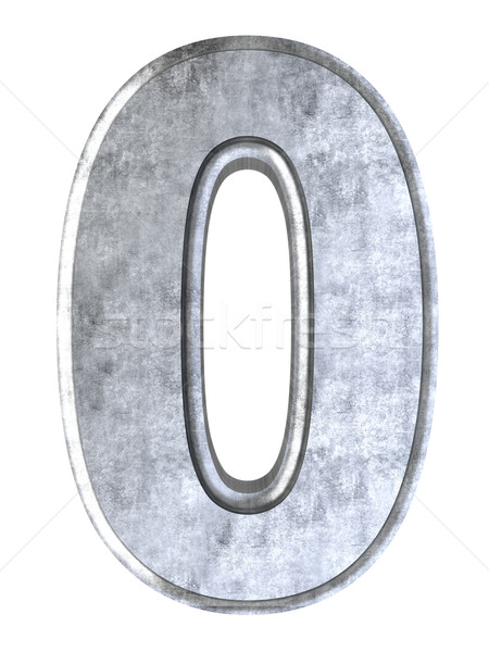 Number 0 Stock photo © Spectral