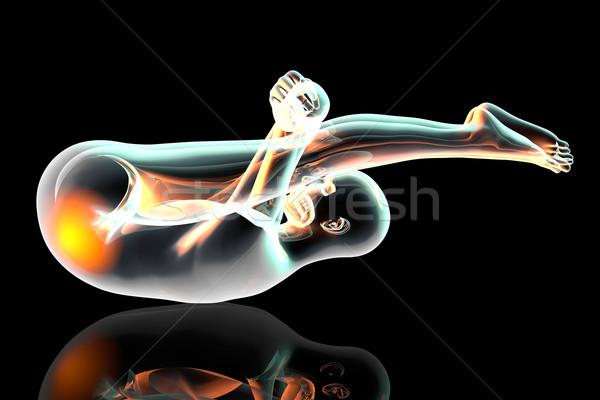Generic Yoga pose Stock photo © Spectral