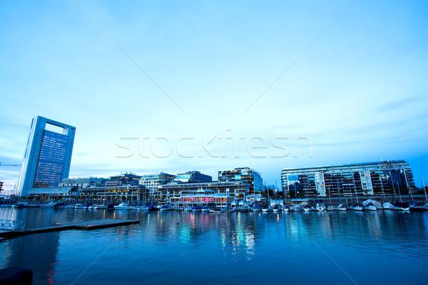 Buenos Aires híres Argentína dél-amerika üzlet égbolt Stock fotó © Spectral