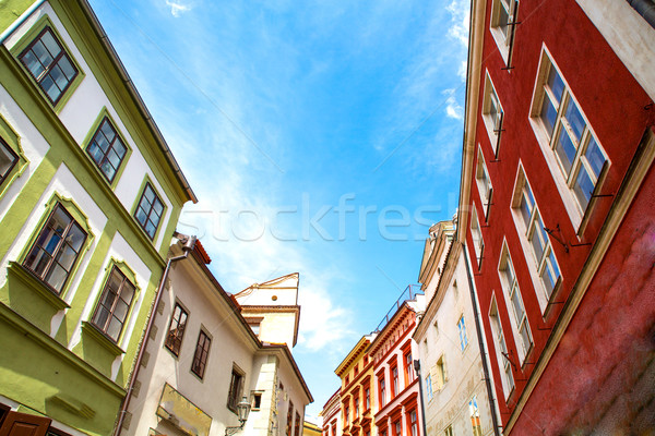 Historic Architecture in Krumlov Stock photo © Spectral