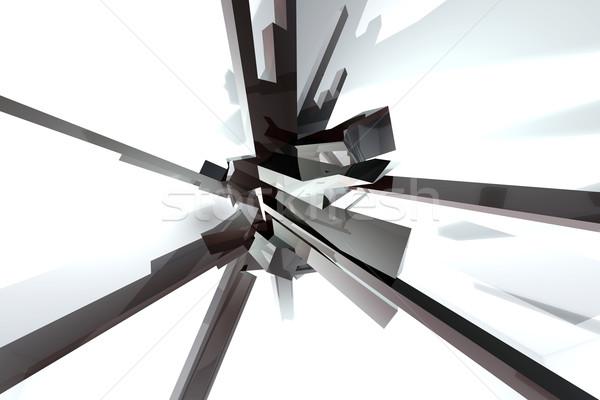 Abstrakten 3D gerendert Illustration Hintergrund splash Stock foto © Spectral