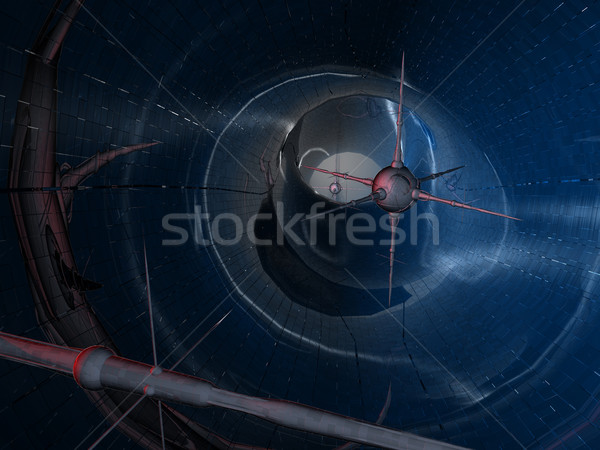 Nano tecnologia digital cenário três Foto stock © Spectral