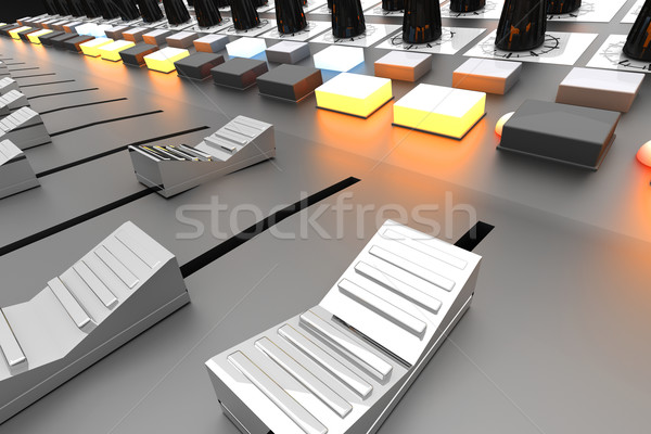 Mixing board Stock photo © Spectral
