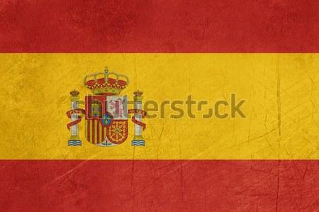 Foto d'archivio: Grunge · Spagna · bandiera · paese · ufficiale · colori