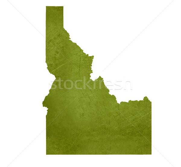 Idaho amerikaanse geïsoleerd witte kaart Stockfoto © speedfighter