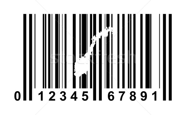 Norway bar code Stock photo © speedfighter