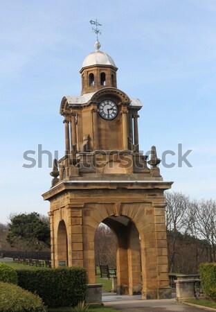 юг утес часы башни исторический север Сток-фото © speedfighter