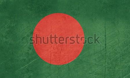 Grunge Bangladesh bandeira país oficial cores Foto stock © speedfighter