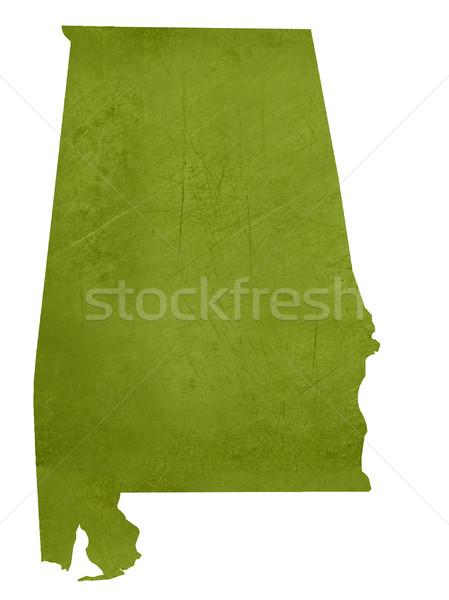 Alabama amerikan yalıtılmış beyaz harita Stok fotoğraf © speedfighter