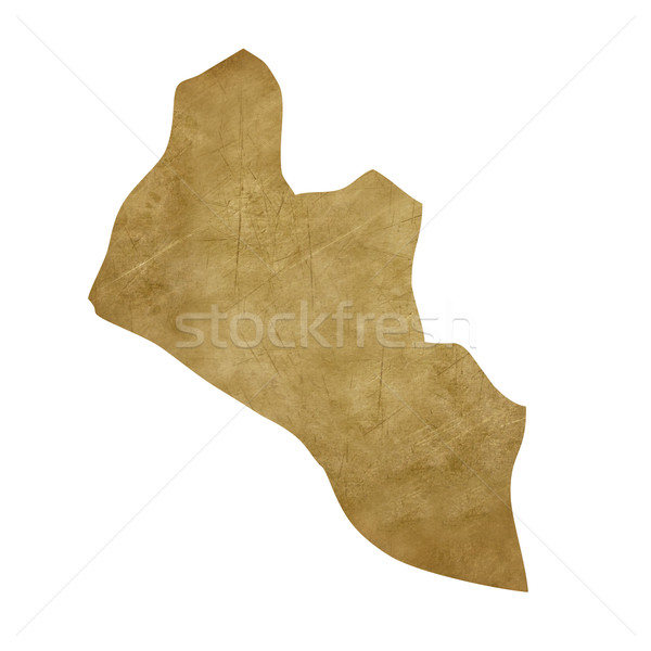 Liberia grunge treasure map Stock photo © speedfighter