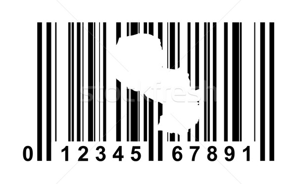 Paraguay bar code Stock photo © speedfighter