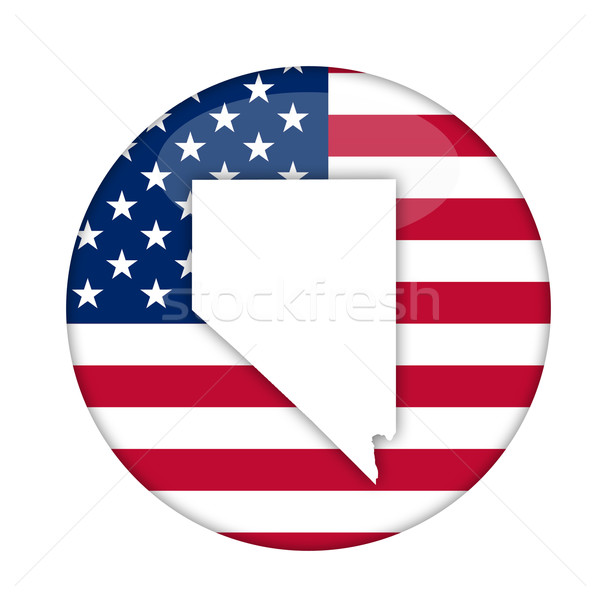 Nevada amerika badge geïsoleerd witte business Stockfoto © speedfighter