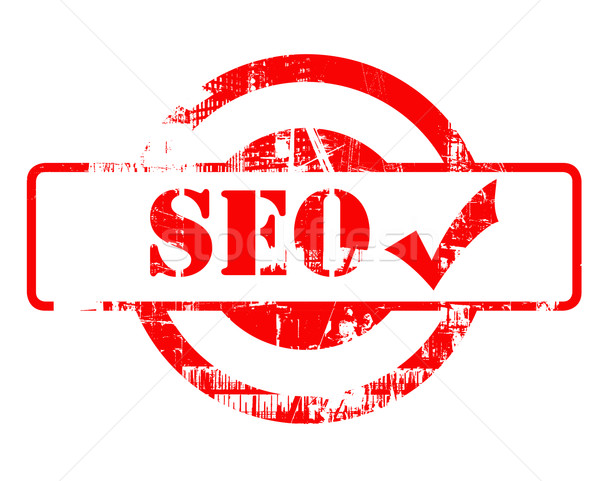 SEO approved red stamp Stock photo © speedfighter