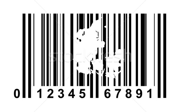 Denmark bar code Stock photo © speedfighter