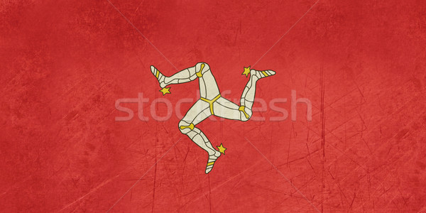 Grunge Isle of Man Flag Stock photo © speedfighter