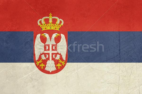 Grunge Serbia Flag Stock photo © speedfighter