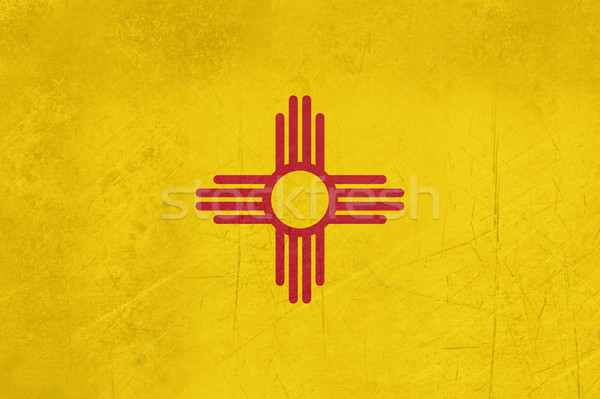 Grunge New Mexico state flag Stock photo © speedfighter