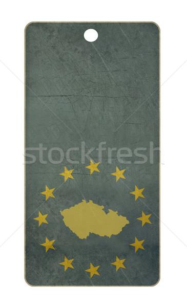 Stockfoto: Tsjechische · Republiek · reizen · tag · geïsoleerd · witte · exemplaar · ruimte