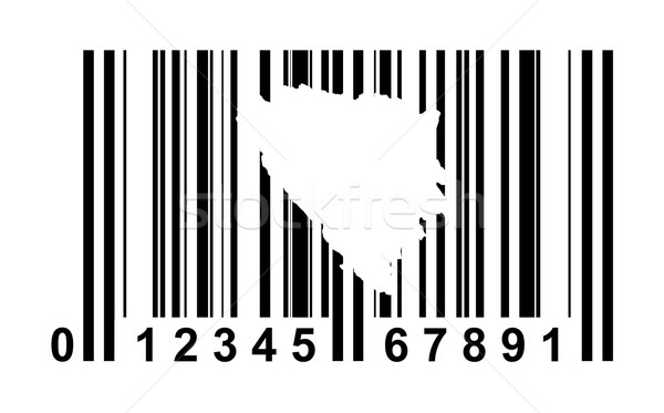 Bosnia and Herzegovina Bar code Stock photo © speedfighter