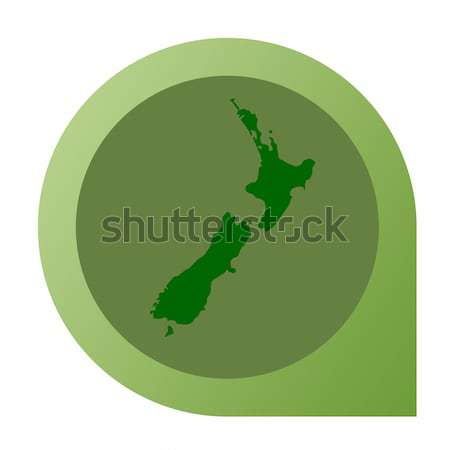 Isolated Norway map marker pin Stock photo © speedfighter