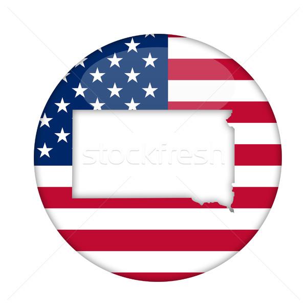 South Dakota state of America badge Stock photo © speedfighter