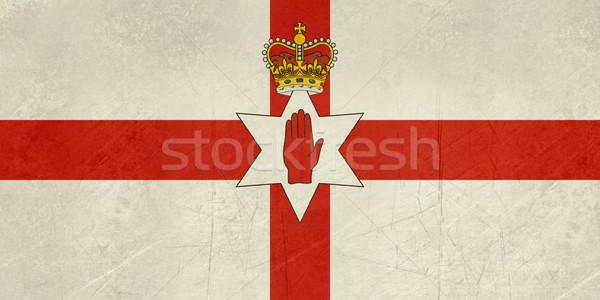 Grunge Ulster flag Stock photo © speedfighter