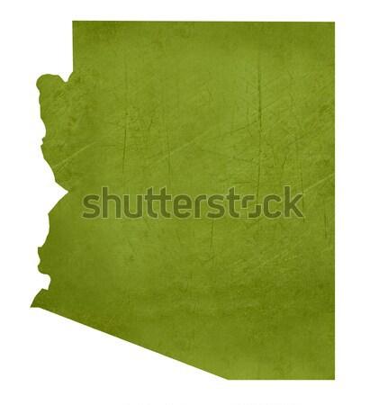 Arizona isoliert weiß Karte Stock foto © speedfighter