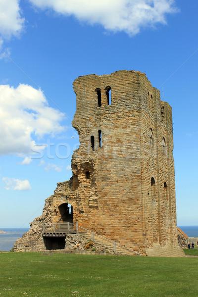 Scarborough Castle ruins1 Stock photo © speedfighter