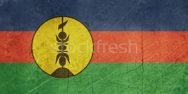 Grunge New Caledonia Flag Stock photo © speedfighter