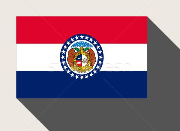 American State of Missouri flag Stock photo © speedfighter