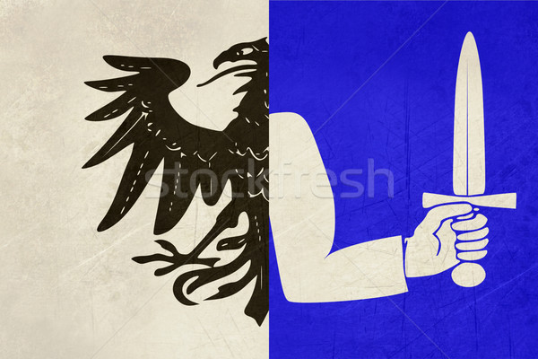 Flag of Connaught province of Ireland Stock photo © speedfighter