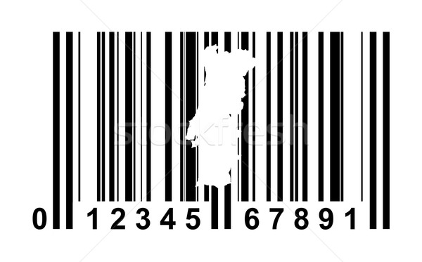 Portugal bar code Stock photo © speedfighter