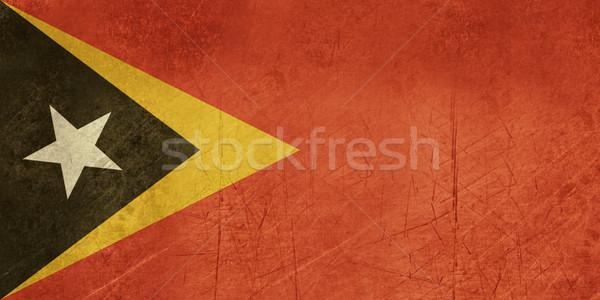 Grunge East Timor flag Stock photo © speedfighter