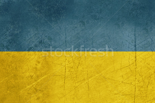 Grunge Ukraine Flag Stock photo © speedfighter