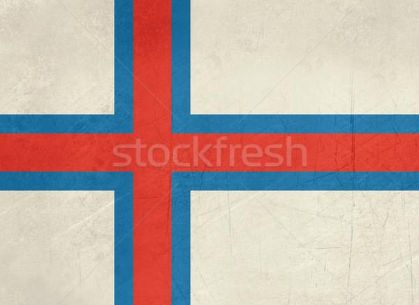 Grunge Faroe Islands flag Stock photo © speedfighter