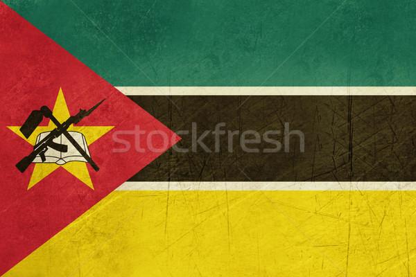 Grunge Mozambik banderą kraju urzędnik kolory Zdjęcia stock © speedfighter