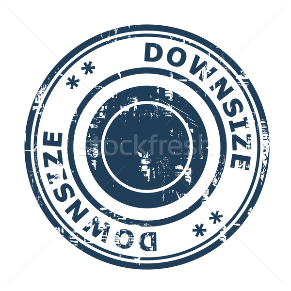 Downsize concept stamp Stock photo © speedfighter