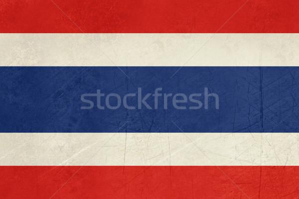 Grunge Thailand Flag Stock photo © speedfighter