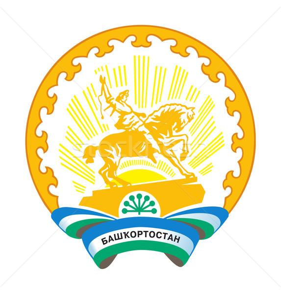 Bashkortostan coat of arms Stock photo © speedfighter