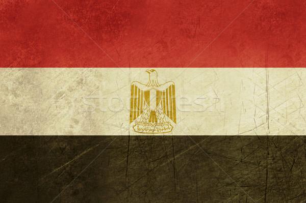 Grunge Egypt flag Stock photo © speedfighter