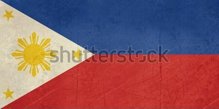 Grunge Philippines Flag Stock photo © speedfighter