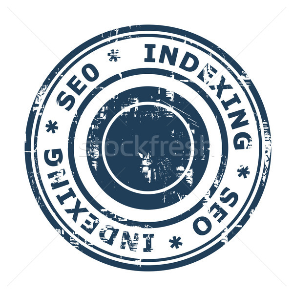 SEO Indexing concept stamp Stock photo © speedfighter